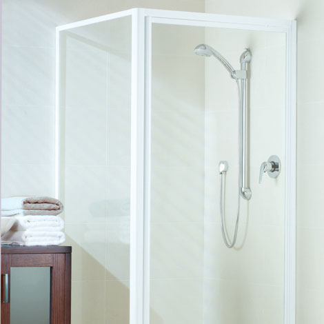 Dimension framed shower screen