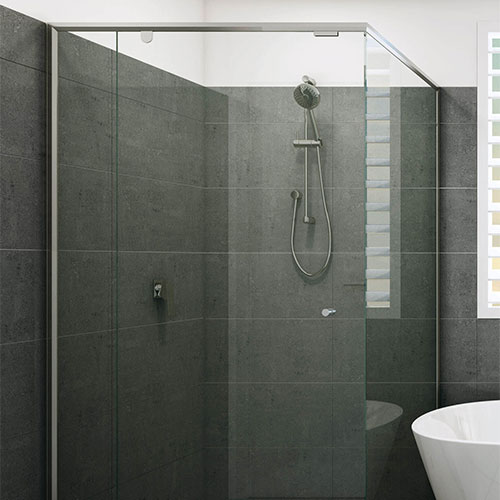 Evolution Semi-Frameless Shower Screen