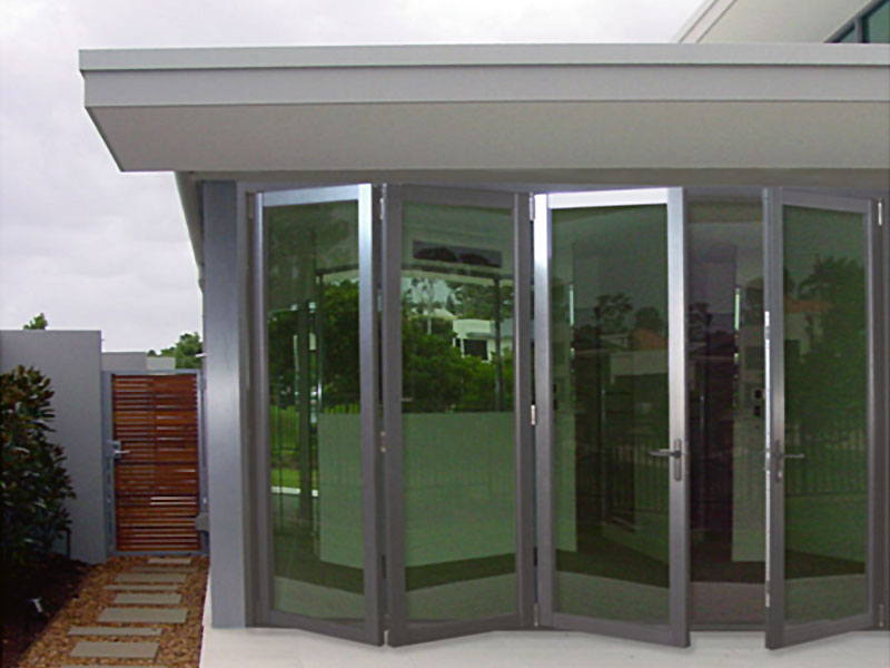 bi fold glass doors